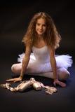 Ritratto della ballerina Fotografia Stock