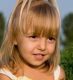 Ritratto della bambina Fotografie Stock