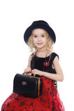 Ritratto della bambina Fotografie Stock Libere da Diritti