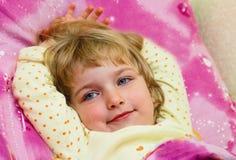 Ritratto della bambina. Immagini Stock