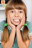 Ritratto della bambina Immagini Stock