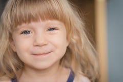 Ritratto della bambina adorabile Fotografia Stock