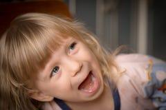 Ritratto della bambina adorabile Fotografia Stock Libera da Diritti