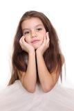 Ritratto della bambina graziosa immagini stock