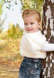 Ritratto della bambina sveglia Immagini Stock Libere da Diritti