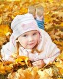 Ritratto della bambina sveglia Immagini Stock