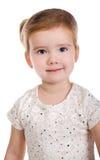 Ritratto della bambina sveglia sorridente Immagine Stock Libera da Diritti