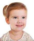Ritratto della bambina sveglia sorridente Fotografia Stock Libera da Diritti