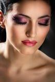 Ritratto della brunetta Fotografia Stock