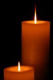 Ritratto della candela Fotografia Stock