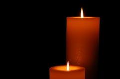 Ritratto della candela Fotografie Stock