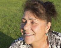 Ritratto della donna anziana. Immagini Stock