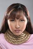 Ritratto della donna asiatica fotografie stock