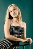 Ritratto della donna attraente Fotografie Stock