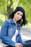 Ritratto della donna attraente Fotografie Stock Libere da Diritti
