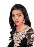 Ritratto della donna dell'indiano orientale fotografia stock libera da diritti