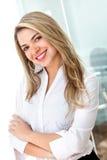 Ritratto della donna di affari Immagini Stock Libere da Diritti