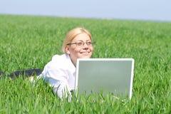 ritratto della donna di affari Fotografia Stock Libera da Diritti