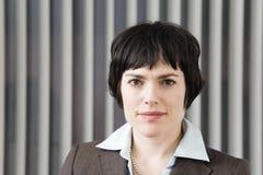 Ritratto della donna di affari. Immagine Stock