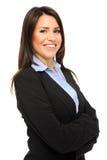 Ritratto della donna di affari immagine stock