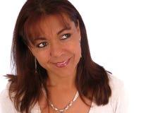 Ritratto della donna di affari Fotografie Stock Libere da Diritti