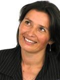 Ritratto della donna di affari Fotografie Stock