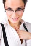 Ritratto della donna di affari di Beautyful immagini stock
