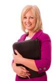 Ritratto della donna di affari di mezza età Fotografia Stock
