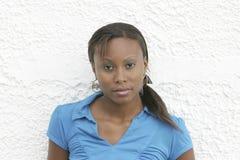 Ritratto della donna di colore fotografia stock