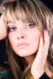 Ritratto della donna di fascino Fotografia Stock
