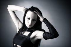 Ritratto della donna di Goth Immagine Stock Libera da Diritti