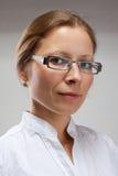 Ritratto della donna di usiness immagini stock libere da diritti