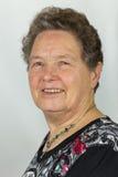 Ritratto della donna europea senior Immagini Stock Libere da Diritti