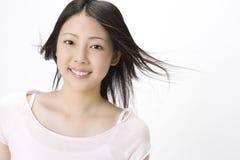Ritratto della donna giapponese Immagini Stock Libere da Diritti
