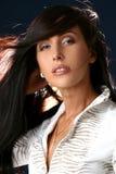 Ritratto della donna graziosa di affari Fotografia Stock Libera da Diritti