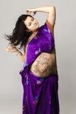 Ritratto della donna incinta fotografie stock libere da diritti