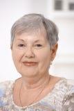 Ritratto della donna maggiore Fotografia Stock