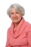 Ritratto della donna maggiore Fotografie Stock Libere da Diritti