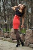 Ritratto della donna russa Immagine Stock Libera da Diritti