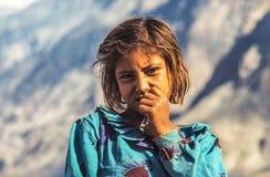 Ritratto della donna sconosciuta dell'agricoltore Immagini Stock Libere da Diritti