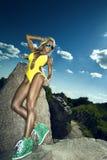 Ritratto della donna sexy Fotografie Stock Libere da Diritti