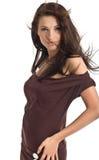 Ritratto della donna sexy Fotografie Stock