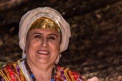 Ritratto della donna turca anziana fotografie stock