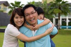Ritratto della famiglia Immagine Stock Libera da Diritti