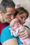 Ritratto della famiglia. Fotografia Stock Libera da Diritti