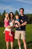 Ritratto della famiglia Immagine Stock