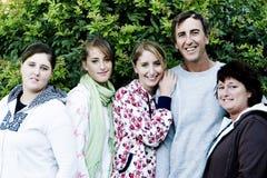 ritratto della famiglia immagini stock