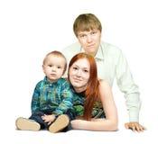 Ritratto della famiglia felice Immagine Stock