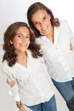 Ritratto della figlia e della mamma Fotografie Stock