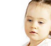 Ritratto della fine del bambino in su Fotografia Stock Libera da Diritti